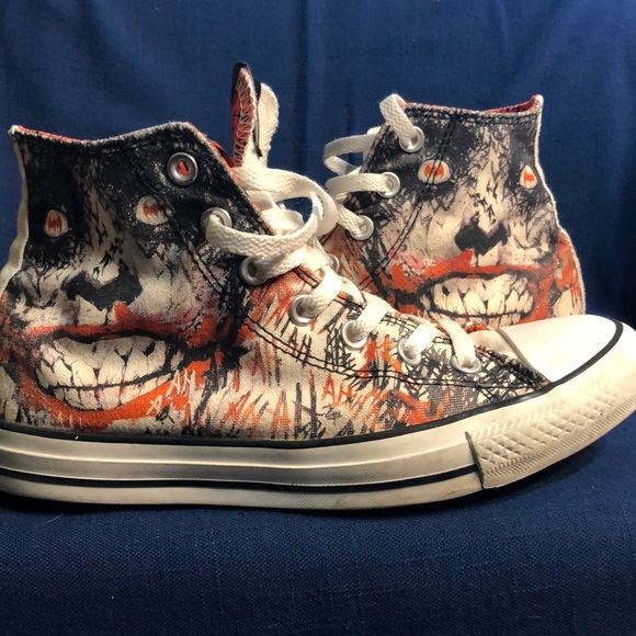Converse DC Comics The Joker Hi Tops